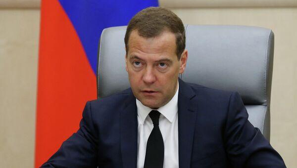 Премьер-министр РФ Д.Медведев. Архивное фото
