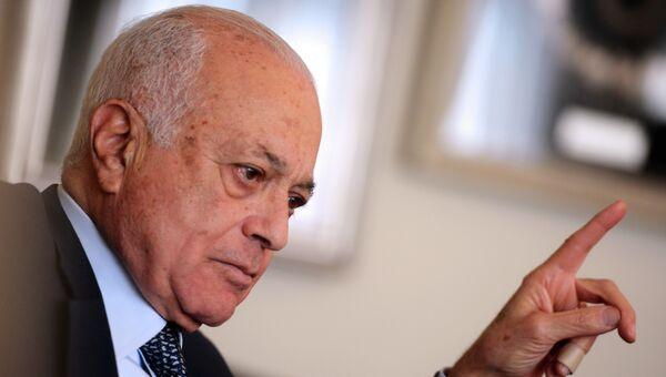 Генеральный секретарь Лиги арабских государств Набиль аль-Араби. Архивное фото
