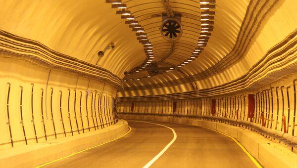 Гимринский тоннель в Буйнакском районе Дагестана. Архивное фото