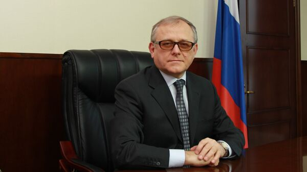 Посол Российской Федерации в КНДР Александр Мацегора. Архивное фото