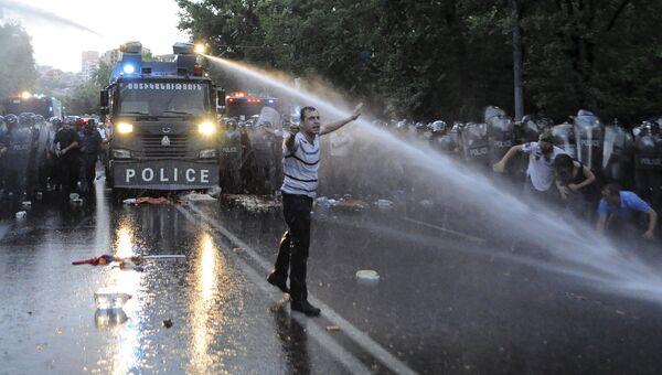 Акция протеста в Ереване. 24 июня 2015