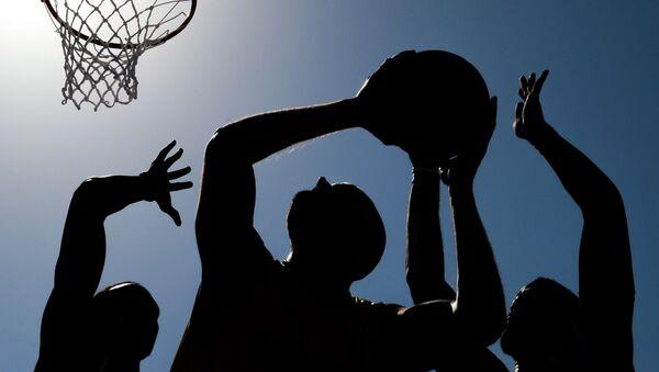 Матч по баскетболу. Архивное фото