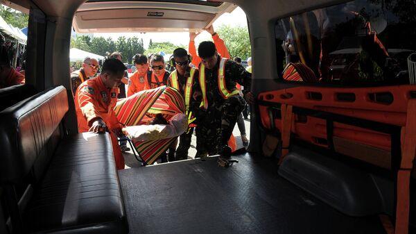 Карета скорой помощи на Филиппинах