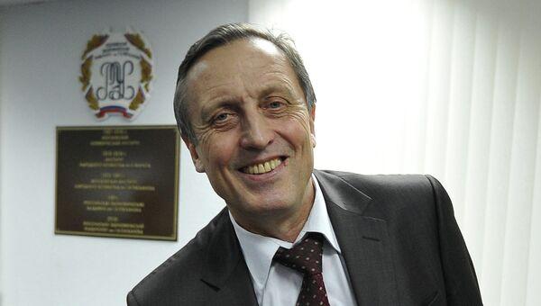Ректор Российского экономического университета им. Г.В. Плеханова Виктор Гришин