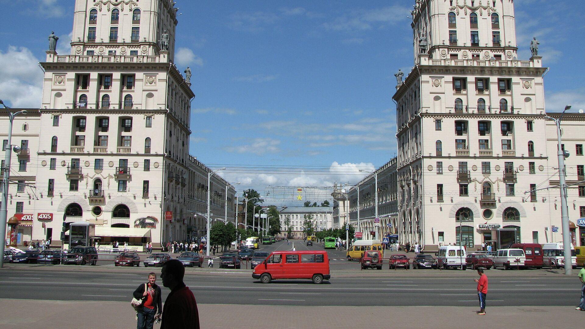 Город Минск - РИА Новости, 1920, 13.04.2021