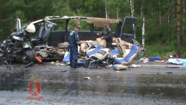 Авария в Балахтинском районе, Красноярского края