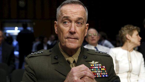 Командующий корпусом морской пехоты США генерал Джеймс Данфорд.