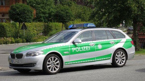 Машина полиции Германии. Архивное фото