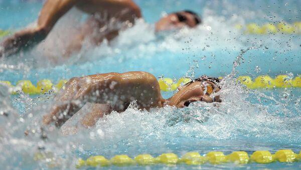 Соревнования по плаванию на летней Универсиаде в Корее 2015