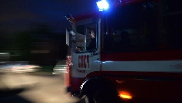 Автомобиль пожарной службы. Архивное фото