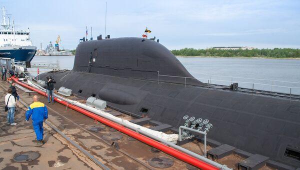 Первая многоцелевая атомная подводная лодка (АПЛ) проекта Ясень К-560 Северодвинск