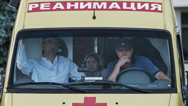 Сотрудники медицинской службы. Архивное фото