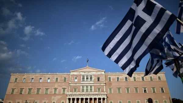Здание парламента в Афинах, Греция