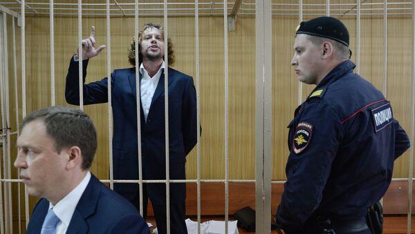 Бизнесмен Сергей Полонский в Тверском суде Москвы