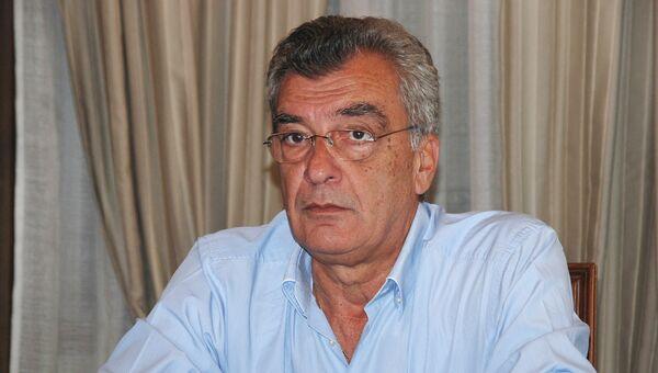 Глава администрации острова Лесбос Спирос Галинос. Архивное фото