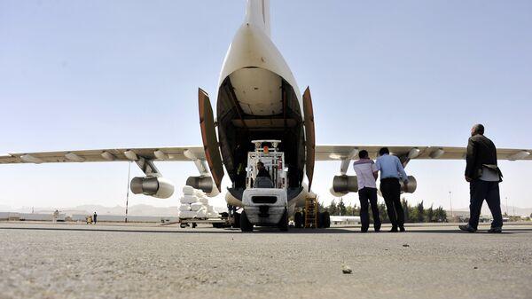 Доставка гуманитарной помощи ООН в Йемен. Архивное фото