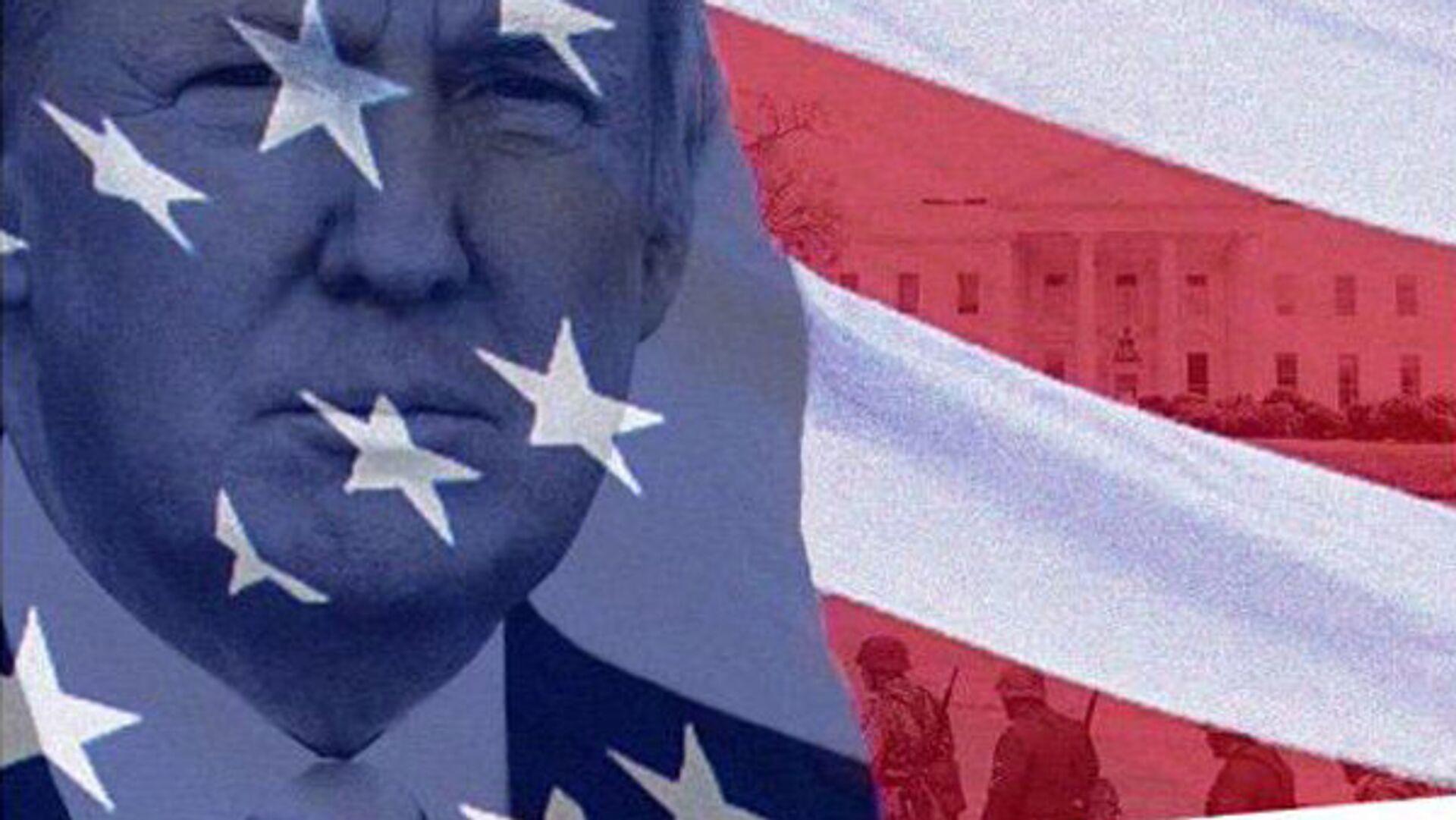 Коллаж Дональда Трампа из микроблога Twitter - РИА Новости, 1920, 11.01.2021