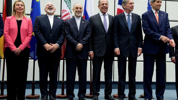 Участники переговоров по иранской ядерной проблеме в Вене, Австрия. Июль 2015. Архивное фото