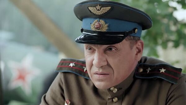 Игорь Арташонов. Кадр из сериала Истребители