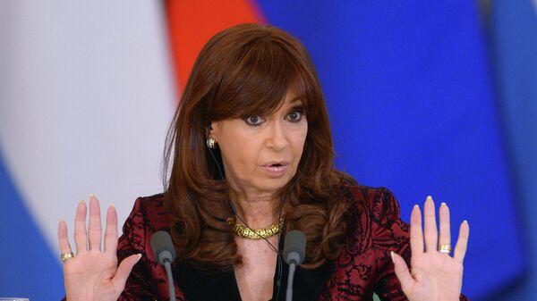 Президент Аргентинской Республики Кристина Фернандес де Киршнер