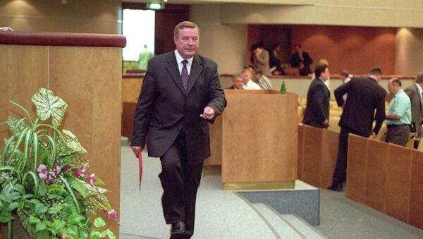 Экс-спикер Госдумы Геннадий Селезнев. Архивное фото