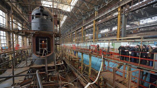 Судостроительный завод. Архивное фото