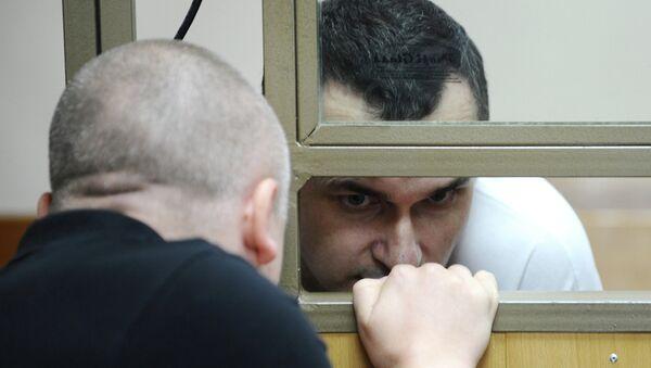 Украинский режиссер Олег Сенцов. Архивное фото