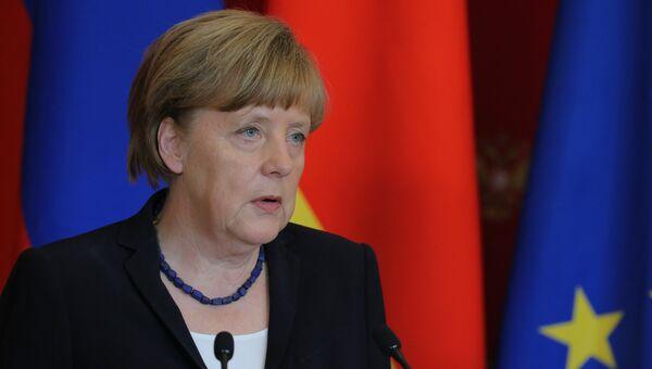 Канцлер Федеративной Республики Германия Ангела Меркель