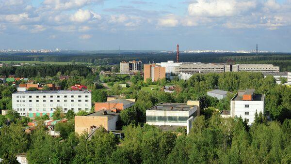 Вид на Троицкий институт инновационных и термоядерных исследований. Архивное фото