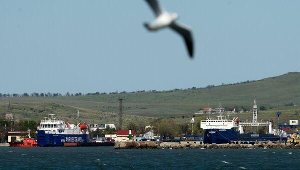 В порту. Архивное фото
