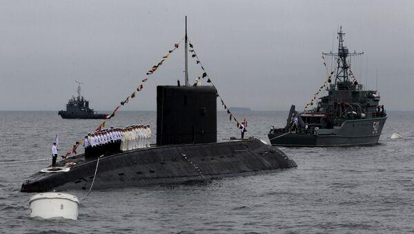 Подводная лодка класса Варшавянка. Архивное фото