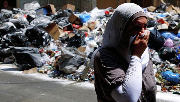 Мусорный кризис в Бейруте. Архивное фото