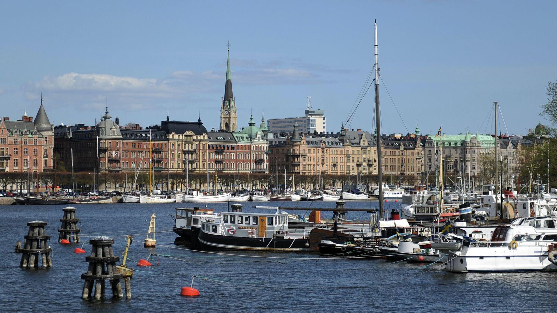 Вид на город Стокгольм, Швеция - РИА Новости, 1920, 12.05.2021