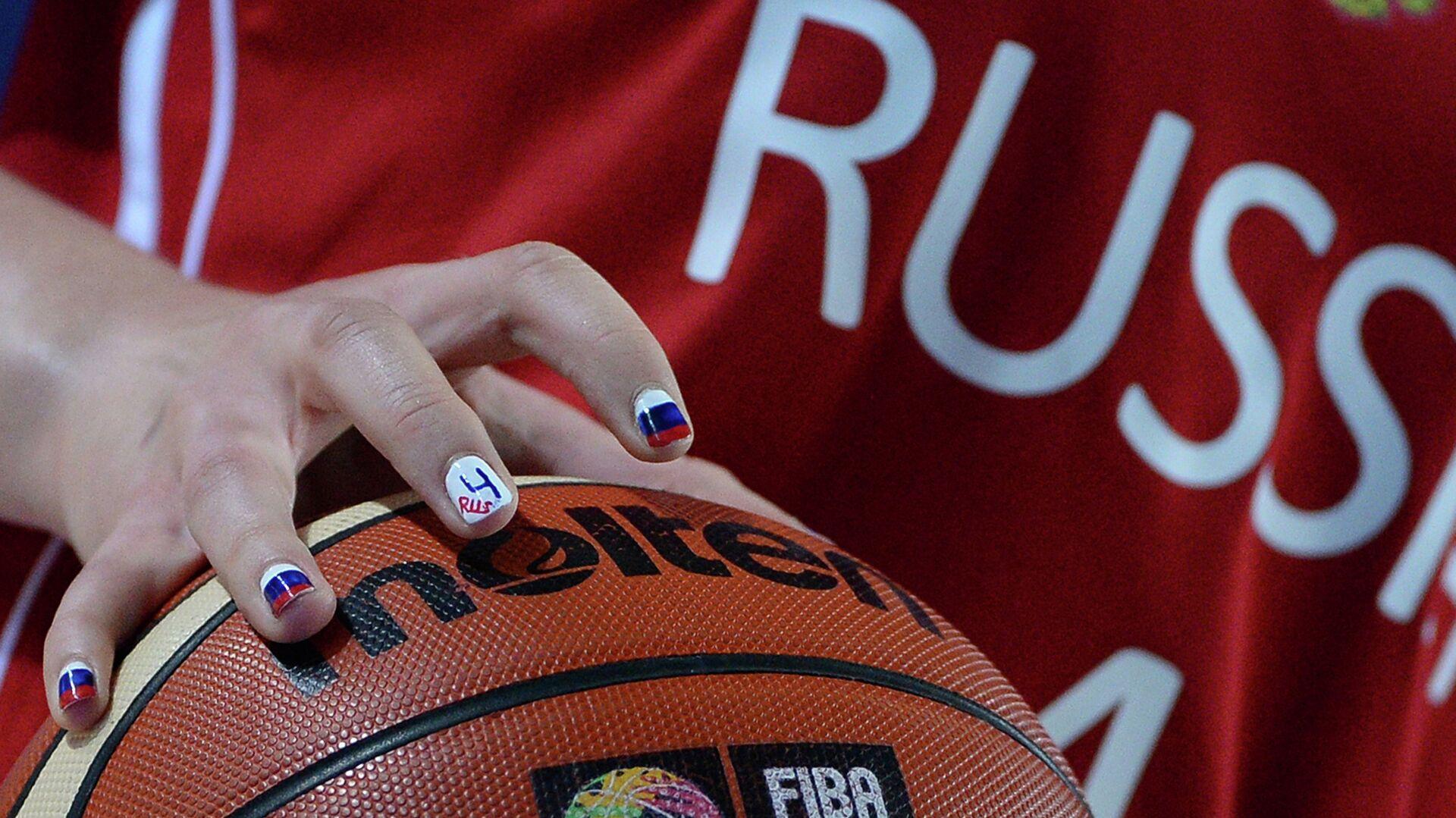 Баскетбольный мяч - РИА Новости, 1920, 17.06.2021