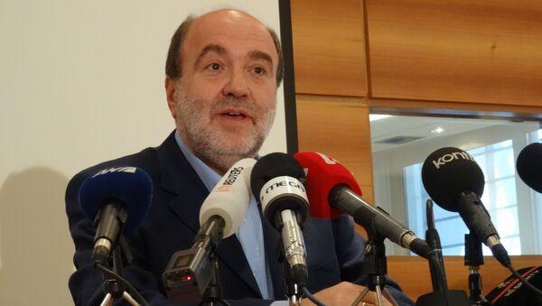 Заместитель министра финансов Греции Трифон Алексиадис