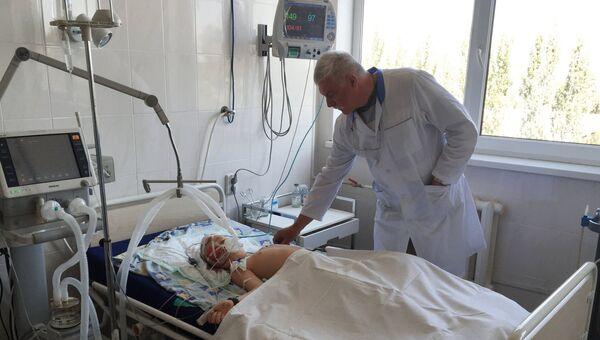 Реанимация больницы в Горловке. Архивное фото