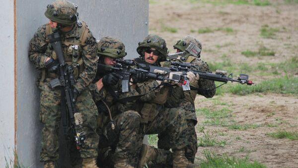 Международные военные учения Репид Трайдент - 2015. Архивное фото