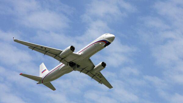 Самолет спецназначения Ту-214 . Архивное фото