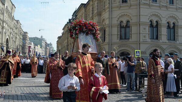 Праздник День ВДВ на улице Ильинке