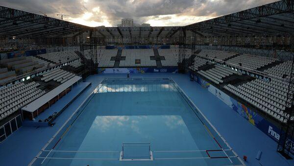 Спортивная арена для соревнований по водному поло в Казани. Архивное фото
