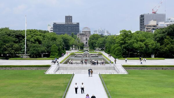 Мемориальный парк Мира в Хиросиме. Архивное фото