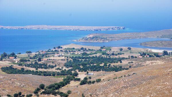Виды греческого острова Лесбос. Архивное фото