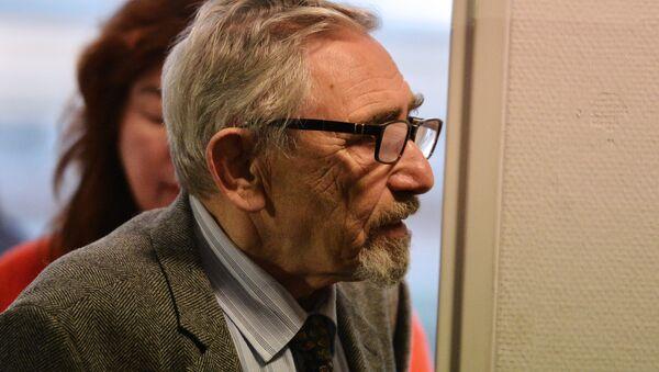 Отец Михаила Ходорковского, Борис Ходорковский. Архивное фото