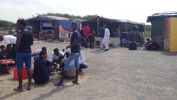 Лагерь мигрантов в Кале. Архивное фото
