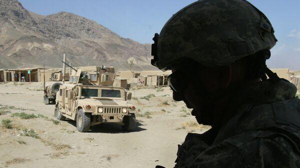 Американские солдаты в Афганистане. Архивное фото