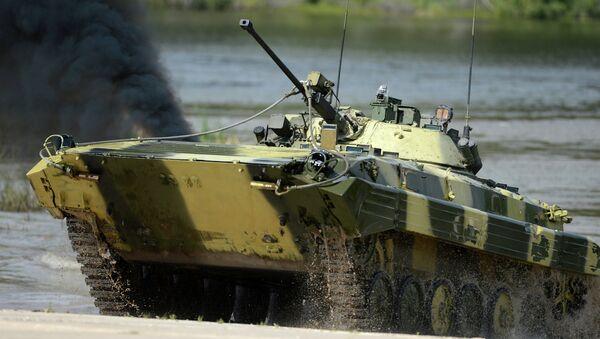 Соревнования боевых машин пехоты на Армейских международных играх