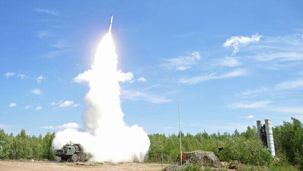 Ракетные стрельбы расчета зенитной ракетной системы войск противовоздушной обороны