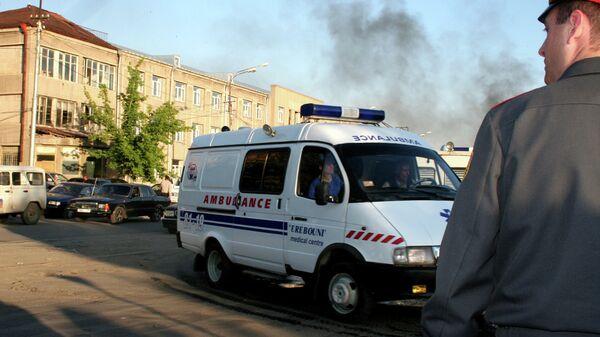 Машина скорой помощи в Армении