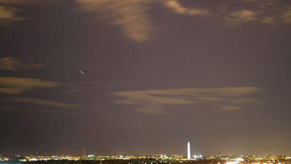 Сгоревший метеорит над Вашингтоном
