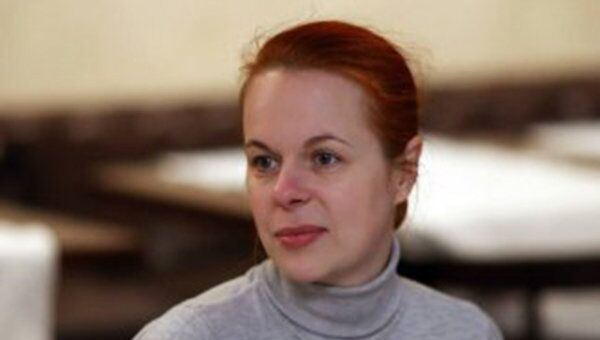 Журналист украинских Вестей Ольга Галицкая. Архивное фото